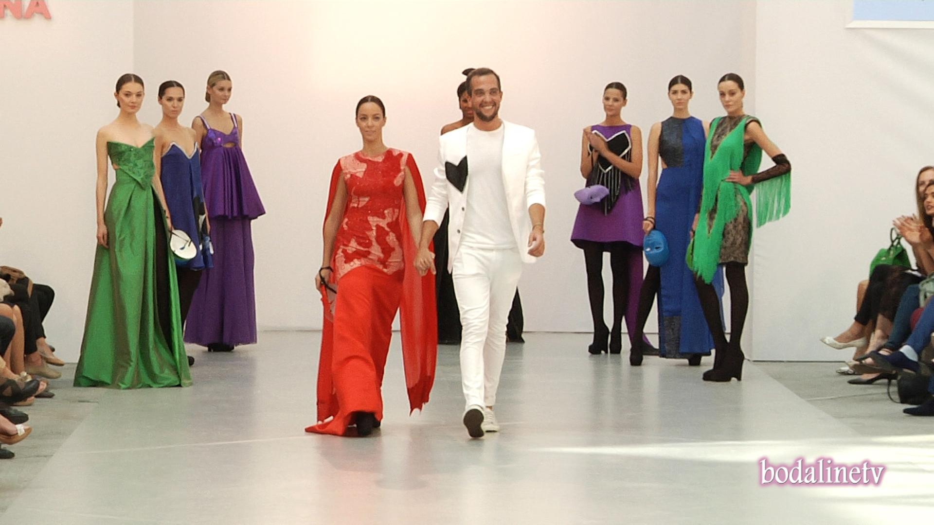 EDUARDO ACQUARONI, en la Pasarela Costura España 2015.