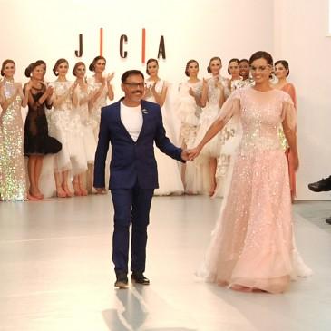 JUAN CARLOS ARMAS Pasarela Costura España 2015.