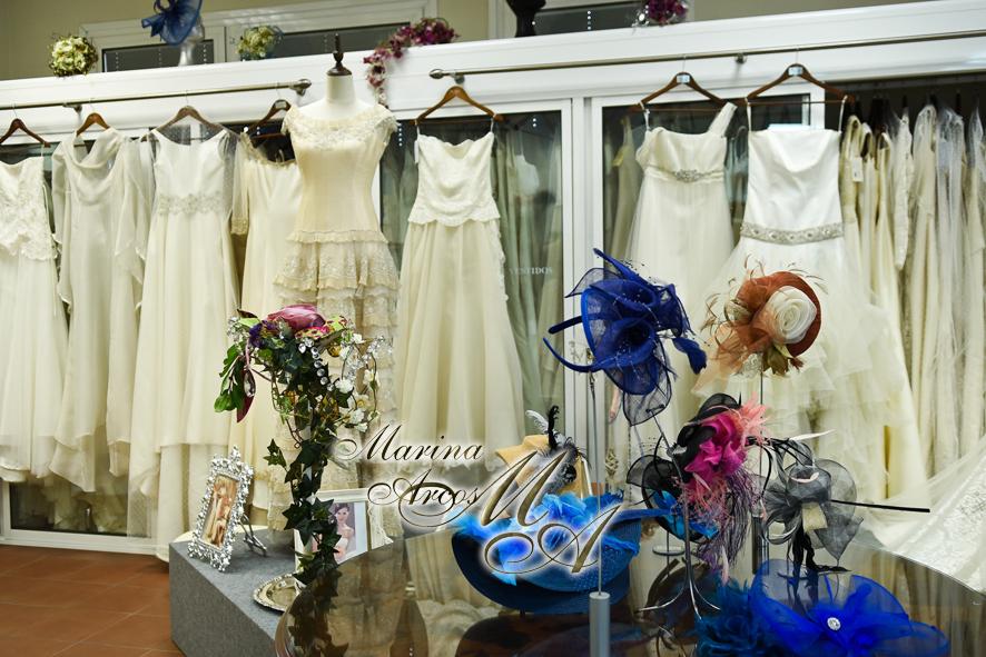 Marina Arcos vestidos de novia y fiesta