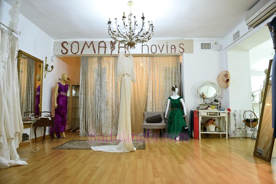 SOMAYA NOVIAS vestidos de novia y fiesta