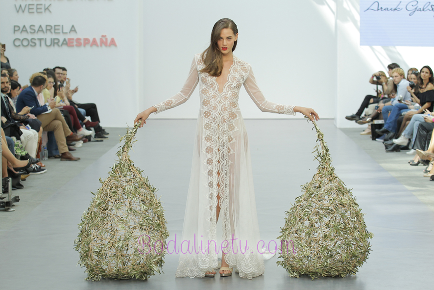 ARAIK GALSTYAN EN MADRID BRIDAL WEEK 2017