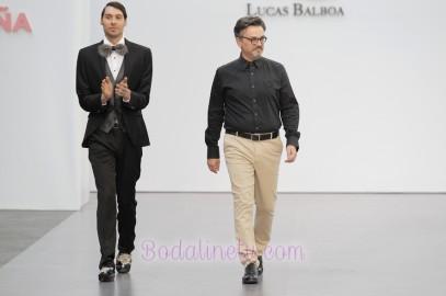 LUCAS BALBOA EN LA MADRID BRIDAL WEEK 2017