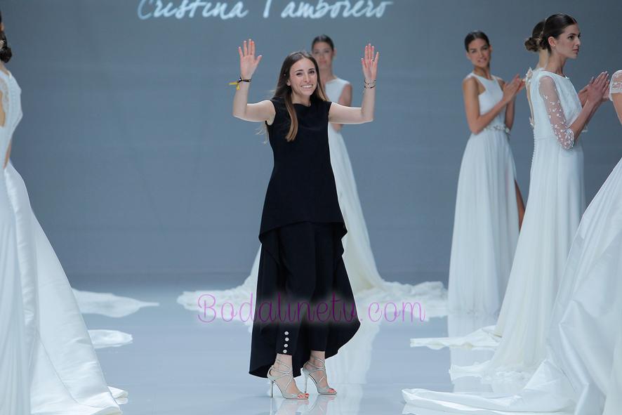 CRISTINA TAMBORERO EN LA BARCELONA BRIDAL WEEK 2018