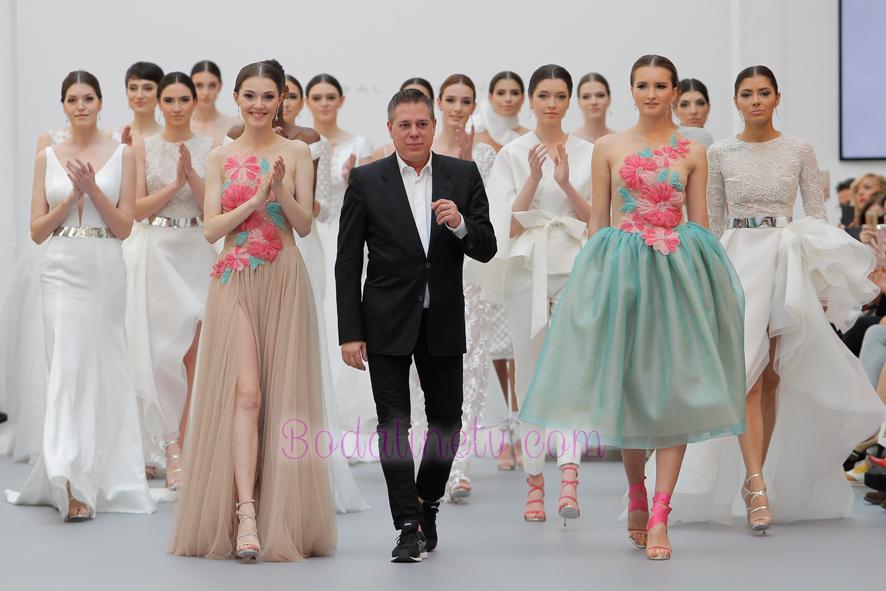 HANNIBAL LAGUNA EN MADRID BRIDAL WEEK 2018