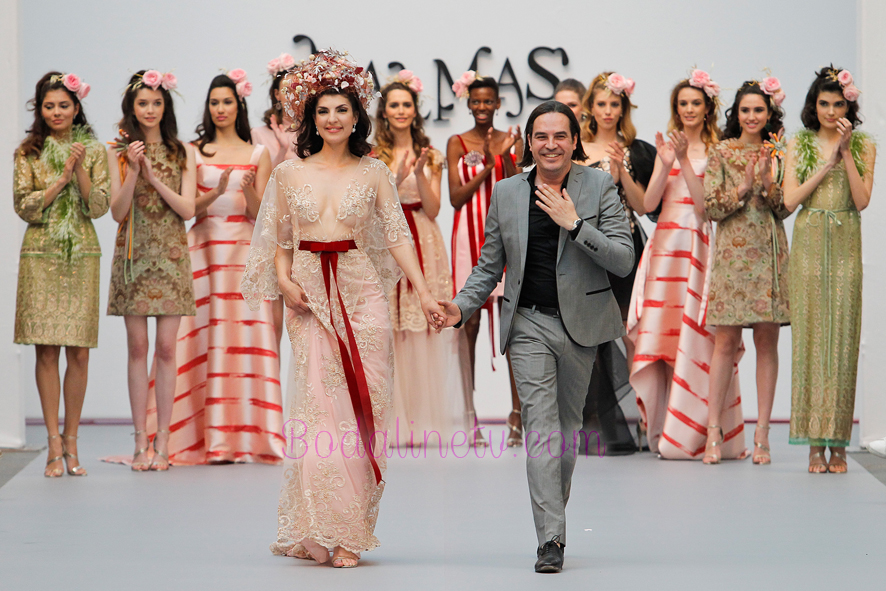 PEDRO PALMAS EN LA MADRID BRIDAL WEEK 2018