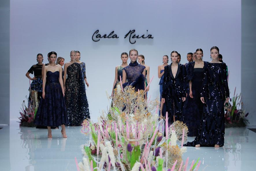 CARLA RUIZ EN LA BARCELONA BRIDAL WEEK 2018