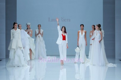 LAURA RIERA EN LA BARCELONA BRIDAL WEEK 2018
