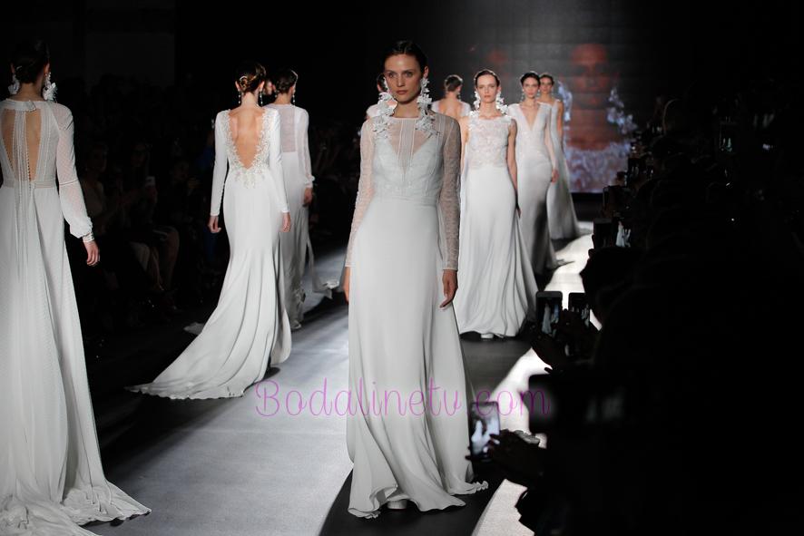 ROSA CLARA EN LA BARCELONA BRIDAL WEEK 2018