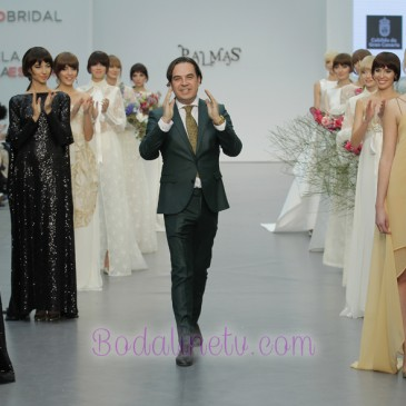 PEDRO PALMAS en Madrid bridal week 2017