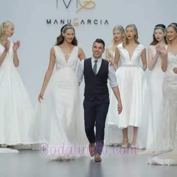 MANU GARCIA EN LA MADRID BRIDAL WEEK 2017