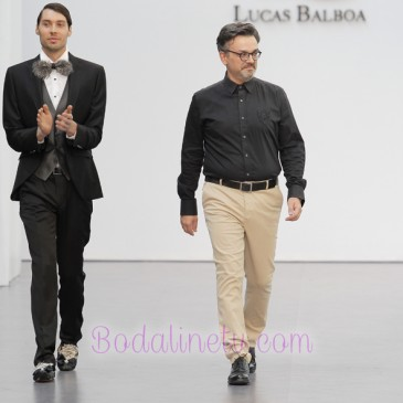 LUCAS BALBOA EN LA MADRID BRIDAL WEEK 2017