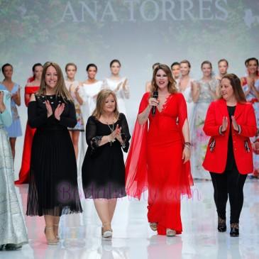 ANA TORRES EN LA BARCELONA BRIDAL WEEK 2018