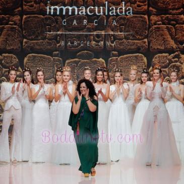 INMACULADA GARCÍA EN LA BARCELONA BRIDAL WEEK 2018