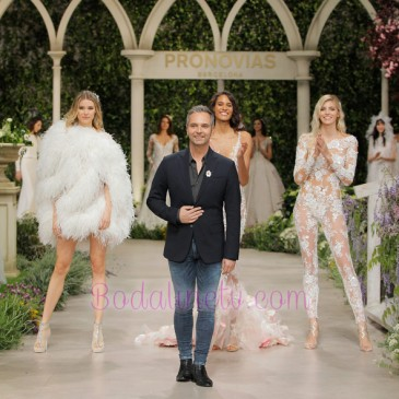 PRONOVIAS EN LA BARCELONA BRIDAL WEEK 2018